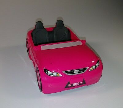 Barbie Pink Car Life in the Dreamhouse Toy McDonalds Happy Meal #4 2015 used