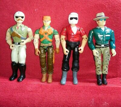 Vintage Retro 80s G I Joe Action Figure's, MPact, Corps Lanard Etc x4 Job Lot