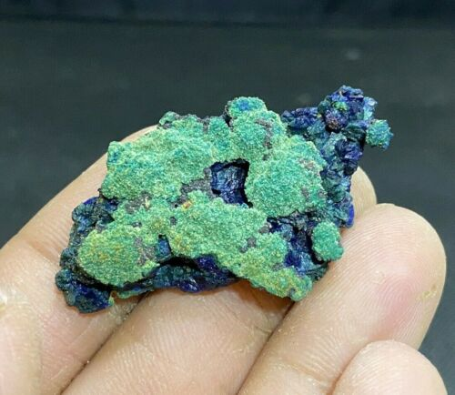 Azurite Malachite Crystal | La Sal Utah