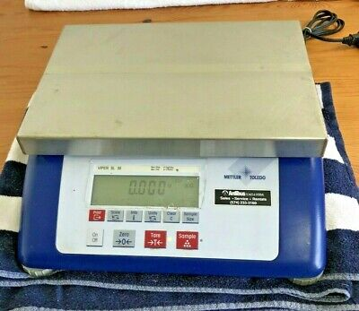 Mettler Toledo Viper Sl 30 Scale - Shipping Receiving - Table Top Scale