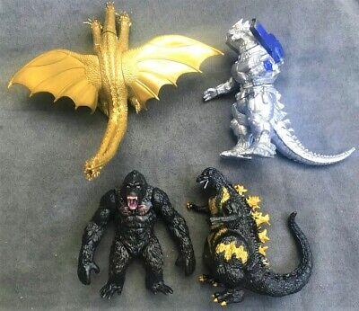 GODZILLA figure set MECHAGODZILLA monster KING KONG skull island GHIDORAH vs