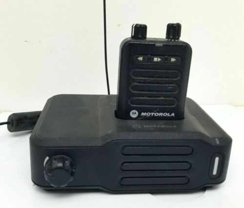 MOTOROLA MINITOR VI (6) 2 TONE PAGER w/ BASE CHARGER AMPLIFIER Fire Dept EMS