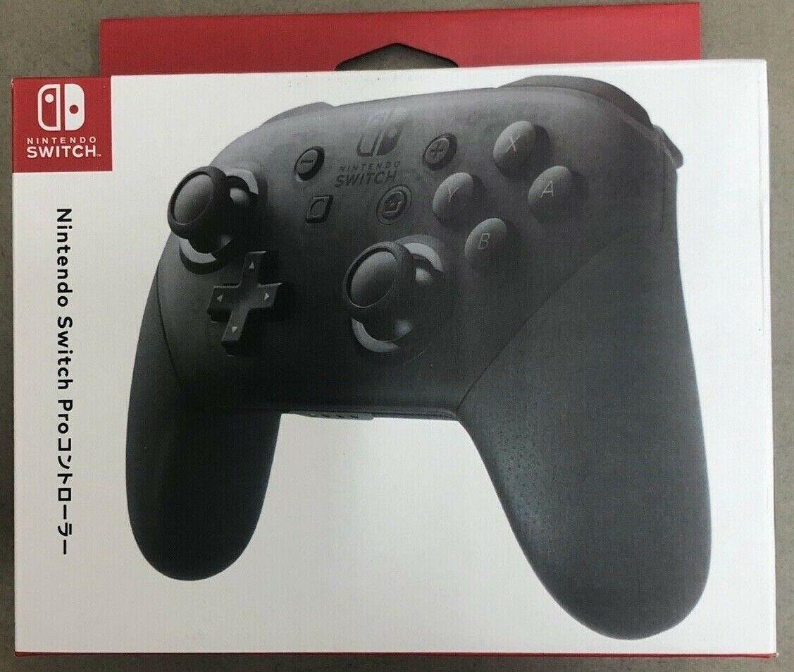 2020 New Nintendo Switch Wireless Pro Controller - Black w/ box