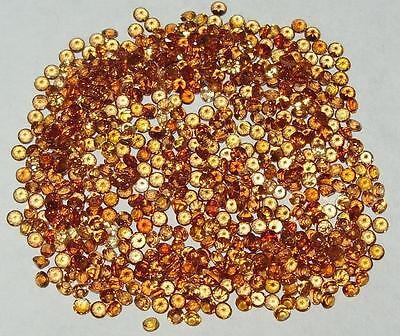 2mm Nigerian Mixed Shades Spessartite Garnet Round Accent Stone