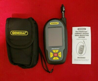 General Dcs950 Palmscope Compact Rugged Video Borescope Inspection System