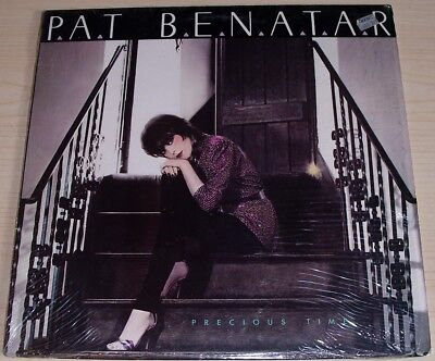 (PAT BENATAR PRECIOUS TIME ALBUM 1981 CHRYSALIS RECORDS CHR-1346 IN SHRINKWRAP)