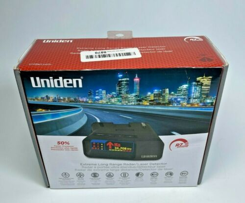 Uniden R7 EXTREME LONG RANGE Laser/Radar Detector, Built-in GPS w/ Real-Time