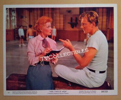 8x10 Lobby Card~ HER TWELVE MEN ~1954 ~Greer Garson ~James Arness of Gunsmoke