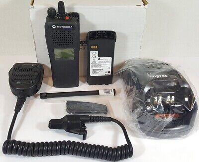 Motorola Xts2500 Vhf 136-174 Mhz Police Fire Ems P25 Digital Radio H46kdd9pw5bn