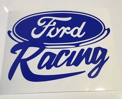 Ford Racing,car decal/ sticker for windows, bumpers , panels  or laptops