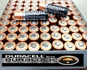 100 PCS AA 1.5V Duracell Duralock Alkaline Batteries Bulk Wholesale Exp. 2025