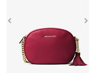 Michael kors red crossbody