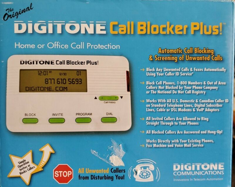 The Original Digitone Call Blocker Plus