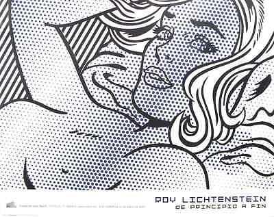 Seductive Girl by Roy Lichtenstein Art Print 34x27 Rare 2007 Exhibition Poster