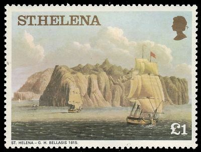 """ST. HELENA 309 (SG330A) - """"St. Helena"""" by G.H. Bellasis (pa83562)"""