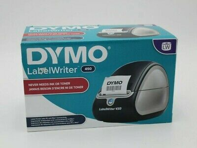 Dymo Labelwriter 450 Label Thermal Printer 1750110 - Used 2x