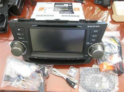 Rosen DS-TY0830 Toyota Highlander 2009 - 2013 Touchscreen Navigation DVD GPS