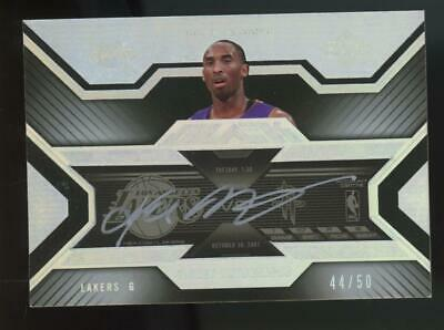 2008 Upper Deck Black Ticket Autograph Kobe Bryant 44/50 Auto