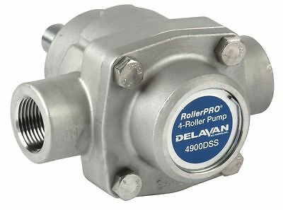 4 Roller Pump - Delavan Rollerpro 4900dss 150 Psi 9.2 Gpm. Dss Cw 58
