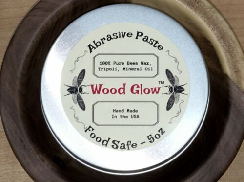 """Wood Turners Abrasive Paste - """"Yorkshire Grit"""" Inspired Recipe - See Reviews!!!"""