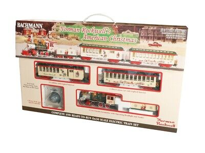 BACHMANN #25023 ON30 NORMAN ROCKWELLS AMERICAN CHRISTMAS TRAIN SET NEW IN BOX