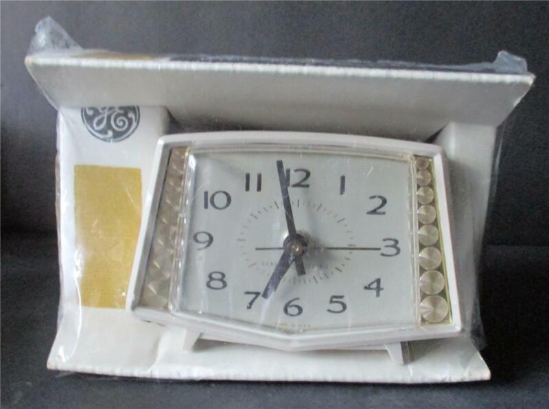 Vintage General Electric Alarm Clock New Old Stock Sealed Mid Century # 2
