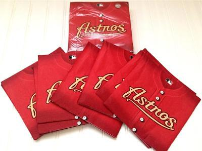 Houston Astros MLB Paper Napkins Baseball Party Birthday 36ct  2-ply Sealed - Baseball Napkins