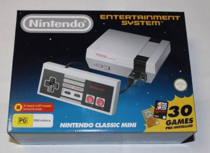 Brand New Mini Nes Classic - Never used Aust Stock from EB games