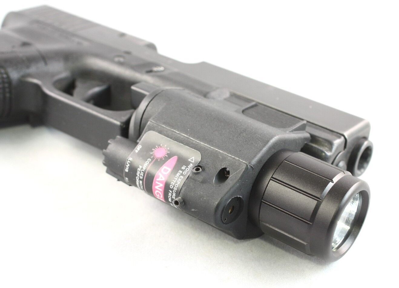 Tactical Red Laser Sight Amp Cree Led Light Combo Rifle