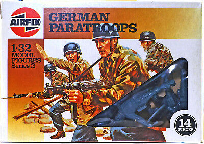 Airfix WWII German Paratroops #51567 - set of 14 figures mint in box