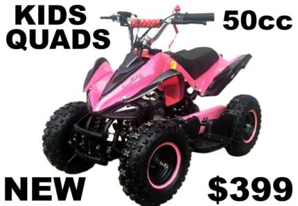 50cc Kids QUAD BIKE pink..   NEW