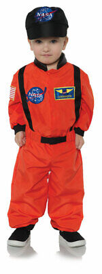 Underwraps Astronaut Flug Anzug Nasa Orange Kleinkind Halloween - Astronaut Kind Orange Kostüme