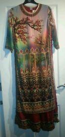 One piece Ladies Indian dress XXL