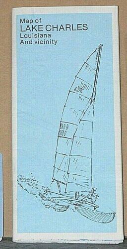 1982 RMLS Street  Map of Lake Charles, Louisiana