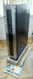 Wine Cooler - stainless steel, brand new