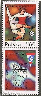 1970 Polen 2008 Europacup wedstrijd Gornik Zabzre - Manchester City