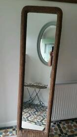 Full length wovan free standing mirror