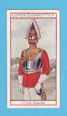 MILITARY  -  COPE  BROS.  -  RARE EMINENT BRITISH OFFICERS CARD NO. 4  -  1908