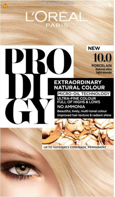 L'Oréal Paris Prodigy Extraordinary Natural Colour 10.0 Ultra Light Blonde
