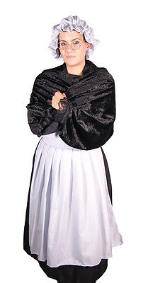 Ladies-Fancy Dress-Granny-Red Riding Hood OLD MOTHER HUBBARD Set- ONE - Old Woman Costume