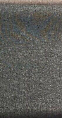 - Designer Brand Hudson Asphalt upholstery Fabric Multipurpose By the yard