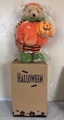 AVON Halloween PUMPKIN BEAR Ourson Citrouille Halloween. New](Citrouille Halloween)
