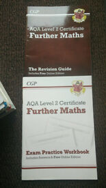 CGP AQA FURTHER MATHS BOOKS