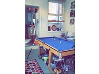 6ft 3 in 1 Pool Table