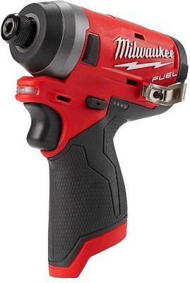 Milwaukee 2553-20 M12 FUEL 12V Li-Ion Brushless 1/4 Hex Cordless Impact Driver