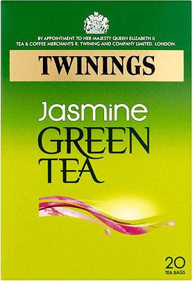 Twinings GELSOMINO tè verde 20 bustine di tè