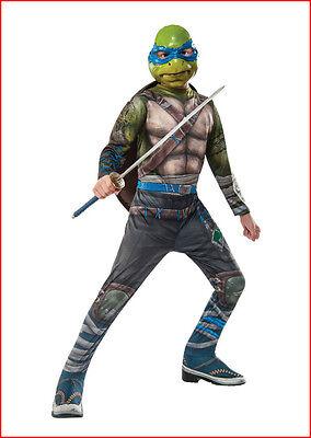 Teenage Mutant Ninja Turtles OUT of the SHADOWS LEONARDO Child Costume Small 4-6 - The Ninja Turtles Costumes