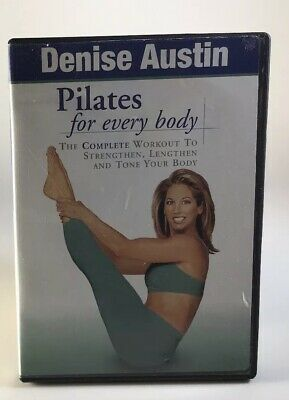 Denise Austin - Pilates for Every Body (DVD, 2002) Workout Weight loss