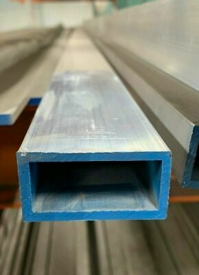 1 X 2 X 18 Wall 6061 T6 Aluminum Rectangular Tube 84 Piece