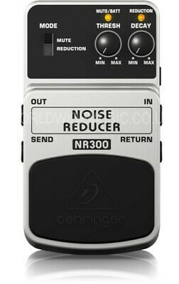 Behringer NR300 Noise Reducer Guitar Effects Pedal / Stomp Box